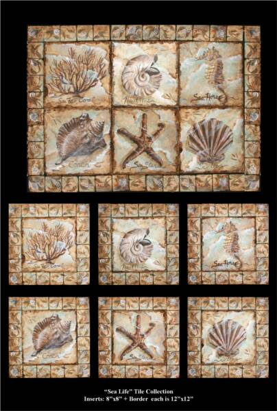 Nautical Tile Murals