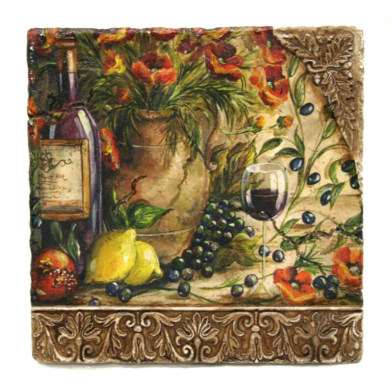 Poppy Hill Tuscan Kitchen: Tre Sorelle Home Decor Wall Hangings